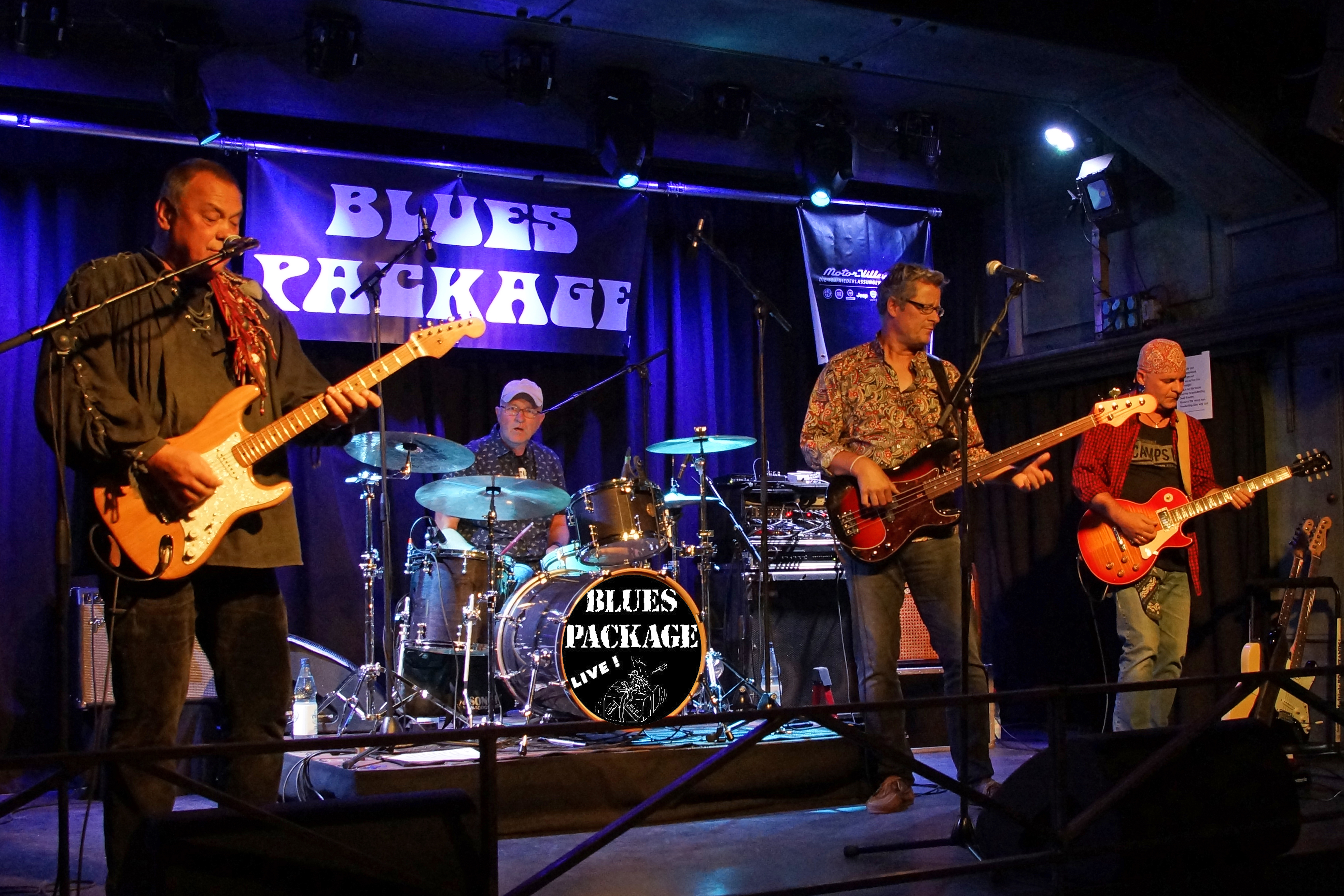 BluesPackage 35 Jahre Blues Package downtown